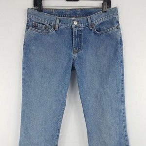 Lucky Brand Women's Dungaree Flare 12